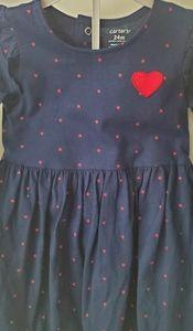 Carter's 24M Navy Girls Dress
